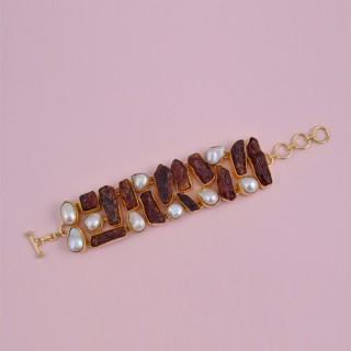 Designer Rose Gold Pendant Set