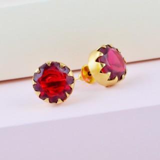 Designer rubellite gem stone