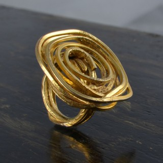 Designer Brass Rings