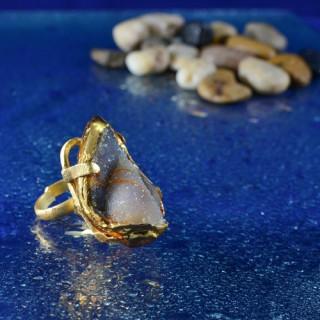Designer Agate Stone Rings
