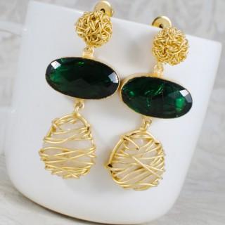 Designer flourite green stone